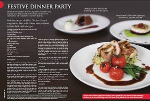 DB Living (Discovery Bay Living)- Dinner party menu – August 2012