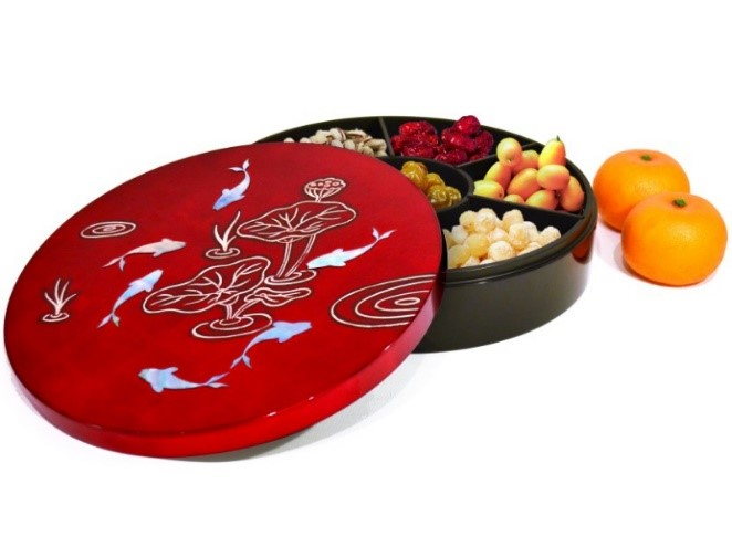 "2 How to prepare a healthy ""Chinese new year candy box"""