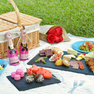 Tickled Pink Picnic Hamper