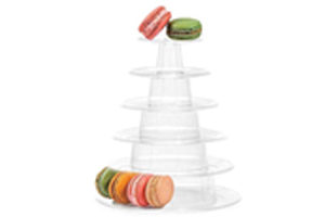 Plastic-Macaron-Tower-with-stand-1-300x200 Gift Hampers